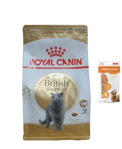 10kg British Shorthair ROYAL CANIN ADULT  85g sacchetti fres