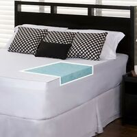 Slumber Solutions Gel 2-inch Memory Foam Mattress Topper With Cover