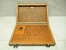 Meyer Model C 10 Plus 011 250 Pin Gage Set With Case
