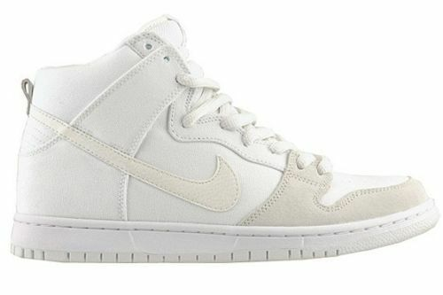 Nike DUNK HIGH PRO SB White Metallic Summit Skate Discounted (157) Men's Shoes