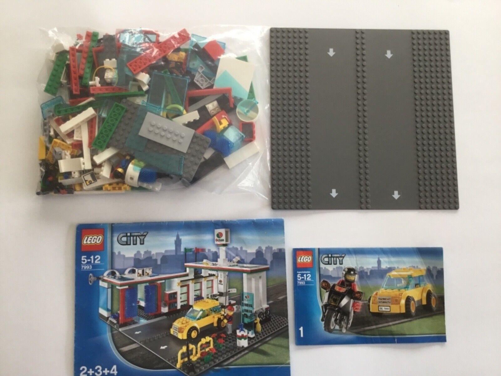 Lego City 7993-Station  Service avec Station de Lavage-avec recette  centre commercial professionnel intégré en ligne