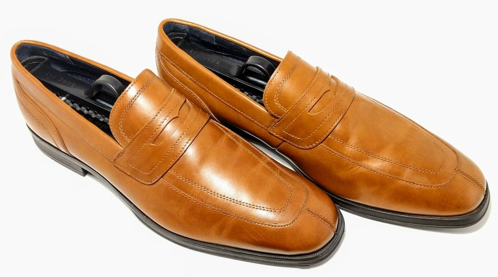 Cole Haan Montgomery Signature Men's Brown Leather Penny Loafers Dress shoes 8M