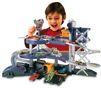 Hot Wheels Vehicles Mega Garage Imaginative Kids Children Play Set Game Toys