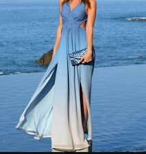 The Jetset diaries revolve Caribbean Ombré Maxi Dress Size Small