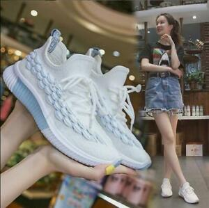 New-Women-039-s-Athletic-Running-Jogging-Shoes-knitting-Walking-Sneaker-Sports-Shoes