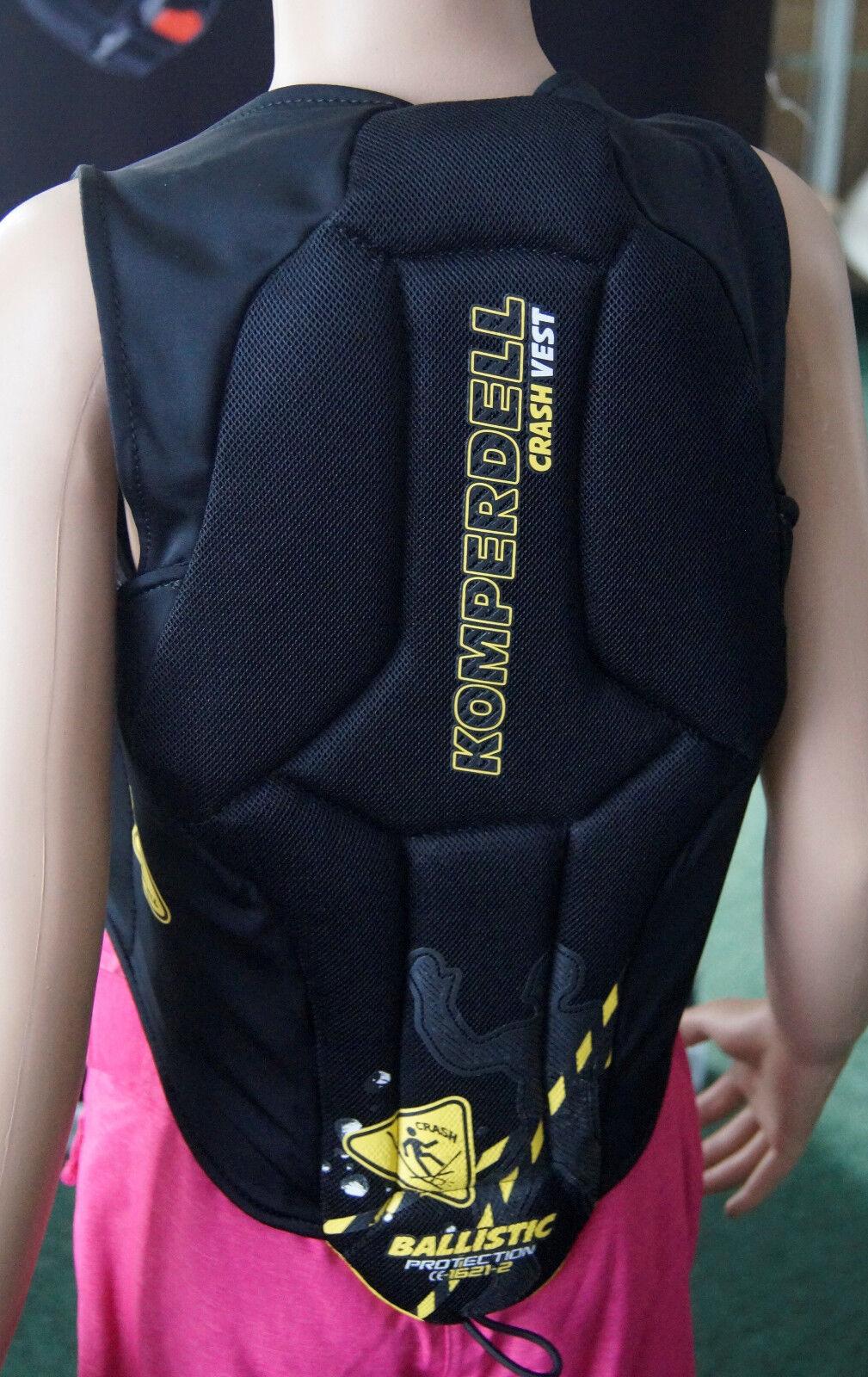 50%rotUZIERT Kinder Rückenprotektor Crash Weste Ski Snowboard 360 Grad Schutz