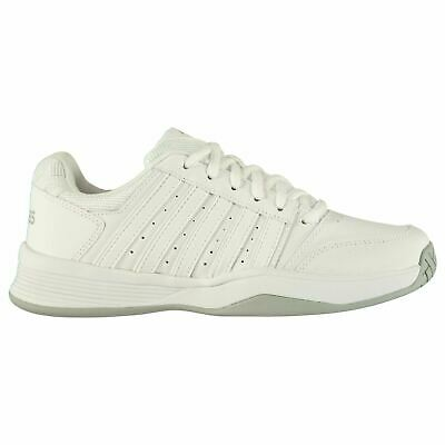 Actief K Swiss Womens Court Smash Tennis Shoes Breathable Lightweight Leather Upper