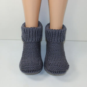 111d9610f47c Image is loading PRINTED-KNITTING-INSTRUCTIONS-FRED-039-S-BOOTS-ADULT-