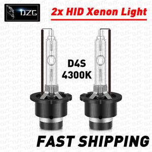 2x 35W 4300K D4S HID Xenon Bulbs Headlight Replacement For Headlight Bulbs OEM