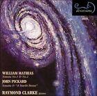 Mathias: Sonata Nos. 1 & 2; Pickard: Sonata; A Starlit Dome (CD, Jan-2004, Divine Art)