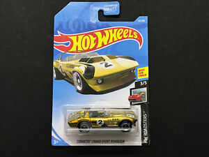 2019 Hot Wheels Super Treasure Hunt STH> Corvette Grand