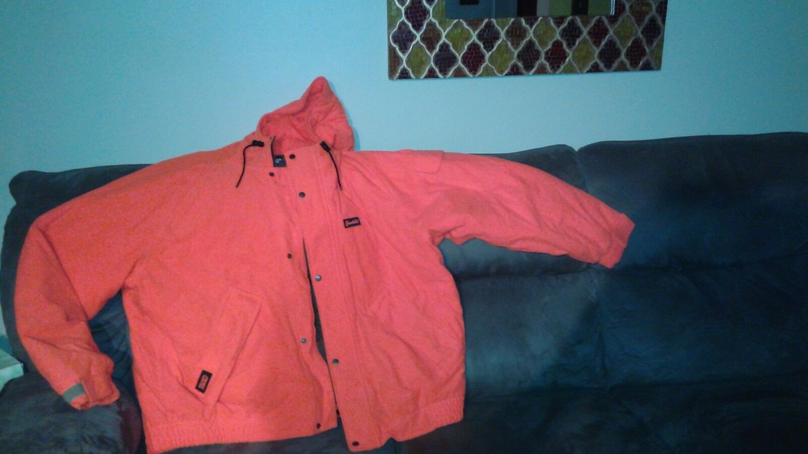 Gamehide Blaze orange Deer Camp Insulated Parka
