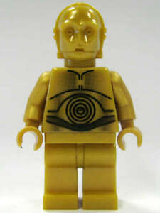 LEGO STAR WARS C-3PO DROID DEATH STAR 10188 MINI-FIG MINIFIGURE NEW L004