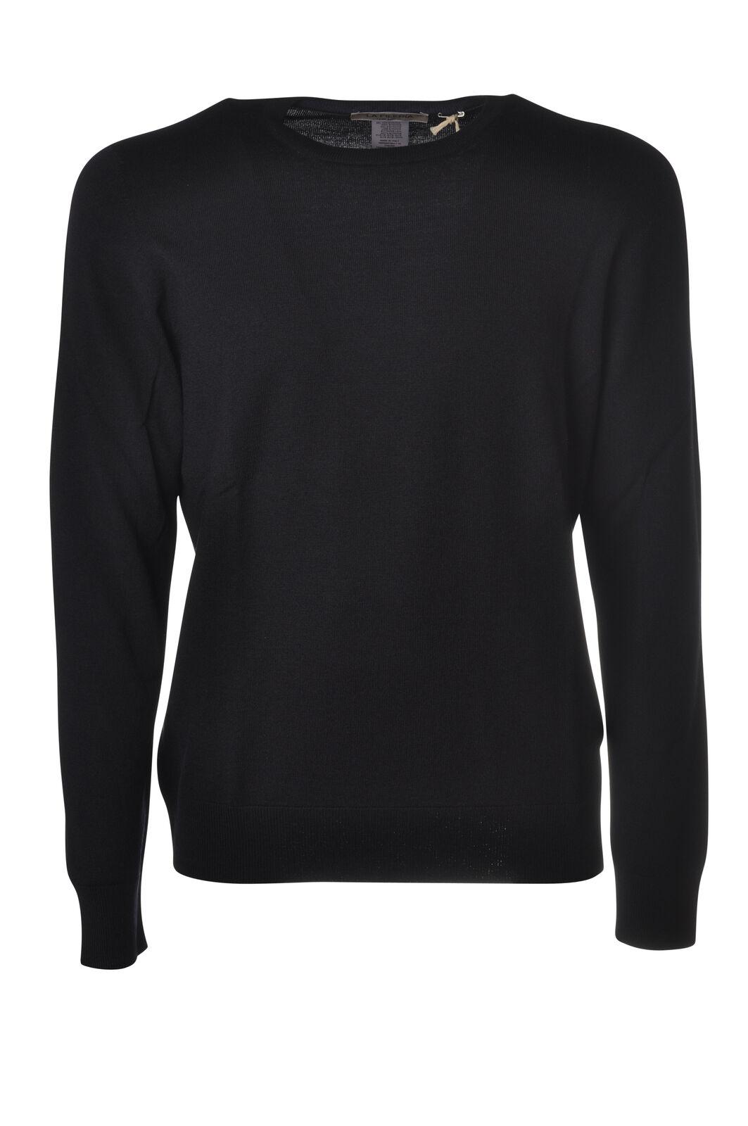 LA FILERIA - Knitwear-Sweaters - Man - bluee - 5466524N183923