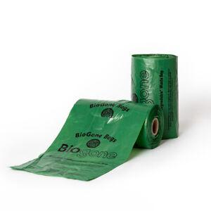 Dog Poo Bags 100% LANDFILL Biodegradable BioGone   Roll of 250 or 500 Waste Bag