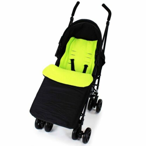 Sis n Bro Footmuff Buddy Jet For Cosatto Supa Dupa Twin Stroller