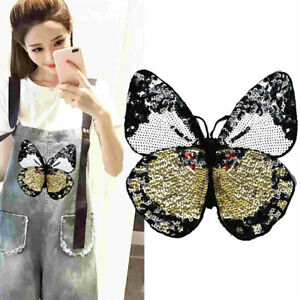 Large-Butterfly-Sequined-Patches-Sew-Iron-on-Clothes-Fabric-Appliques-Crafts-DIY
