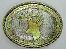 vintage Buck Deer pin collectible old wild animal hunting hunter pinback