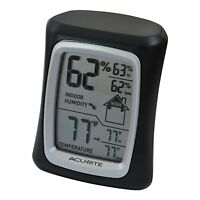 Acurite 00325 Home Comfort Monitor, Black , New, Free Shipping on sale