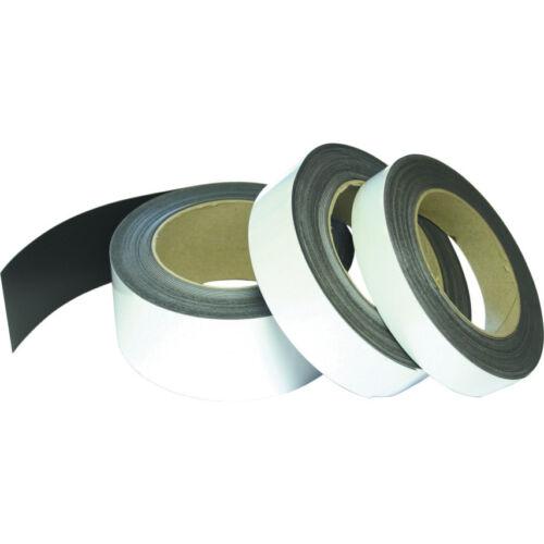 Avon Magnetic Easy Wipe Racking Strip White 30Mmx10M