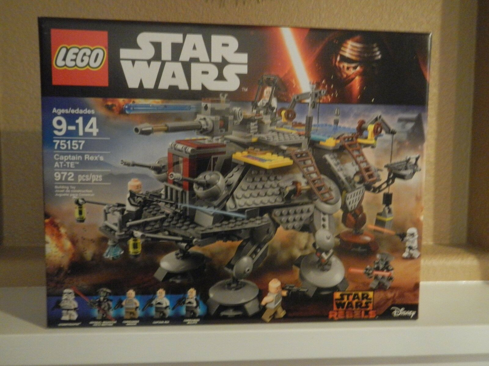 LEGO -NIB~ Star Wars Rebels   75157 - Captain Rex's AT-TE