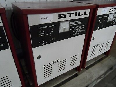 Batterieladegerät-still-d24 150sl-wie Steht QualitäT Und QuantitäT Gesichert Hochhubwagen