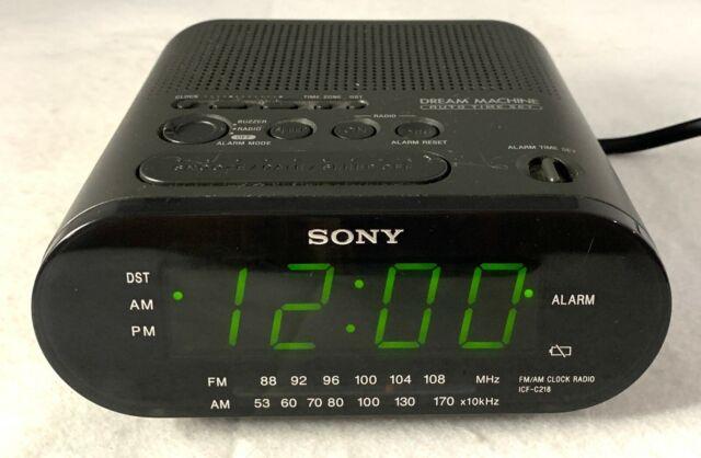 Sony Dream Machine FM//AM Alarm Clock Radio Model ICF-C218