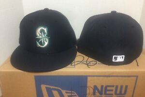 New-Seattle-Mariners-New-Era-MLB-Authentic-Collection-59Fifty-Cap-Hat-sz-7