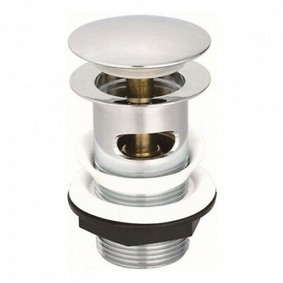 """Chrome Basin Hair Catcher Waste 1.25/"""" BSP Ideal for Hairdressers /& Barbers"""