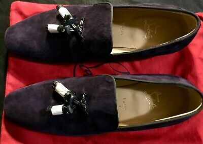 Men's christian louboutin loafers size