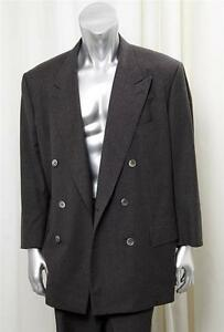 HOUSE-OF-BIJAN-Mens-Charcoal-Gray-Pinstripe-Double-Breasted-Suit-Jacket-50