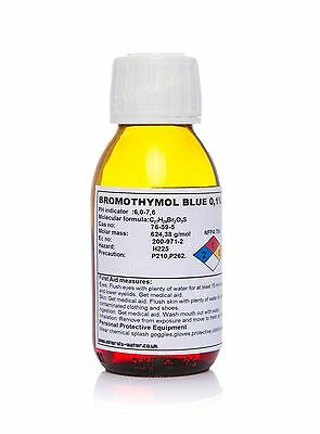 100ml  Bromothymol blue 0,1% Ph indicator ,refill for ph /aquarium  tank plants
