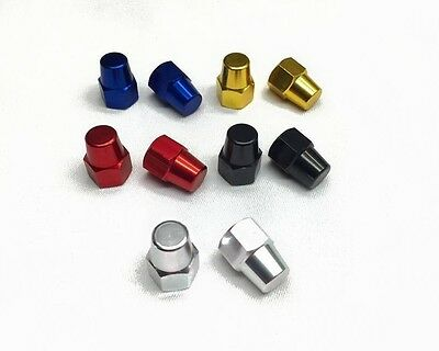 TNT Axle Nuts 3//8 in 26 tpi Aluminum for BMX Hybrid Cruiser Bike Choice of Color