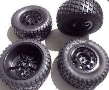 KF Short Course truck 1/10 wheel & tyre set 12mm hex - Traxxas Slash HPI Blitz