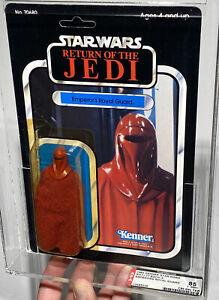 AFA 85 Star Wars ROTJ 77-back Emperors Royal Guard(C85 B85 F85) Y-NM+ Case Fresh