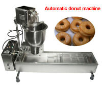Commercial Automatic Donut Maker Making Machine, Wider Oil Tank, 3 Sets Mold