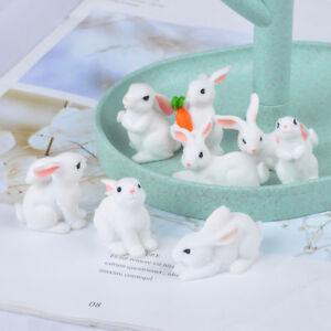 Mini-rabbit-craft-figurine-garden-ornament-miniature-fairy-garden-decor-d-wr