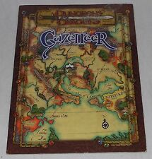 Dungeons & Dragons Gazetteer Book Magazine 2000 Wizards Of The Coast