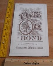 Charter Oak Bond paper company 1940s Conn. catalog of examples