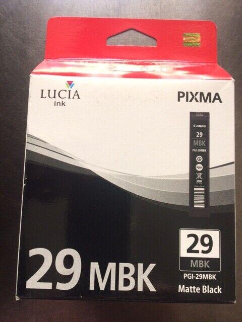 Original Canon Tinte 29 XL matte-black