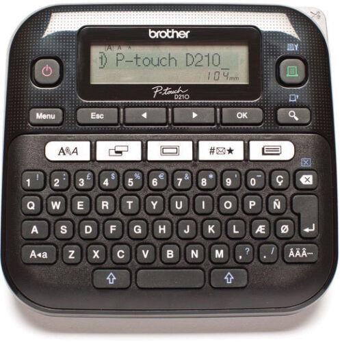 Beschriftungsgerät Brother P-touch D200 D210 neu ovp für TZe-231 TZe131 D-210