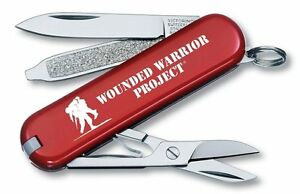 Victorinox Swiss Army Red Classic Wounded Warrior Project