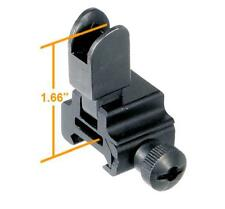 Leapers UTG High Flip-up Front Sight for Regular Height Gas Block MNT-751