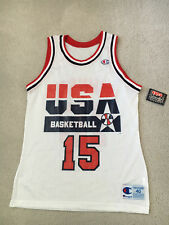 db87fb0ff  NEW  1992 Olympic USA Dream Team Magic Johnson Champion Jersey Size 40  with Tag