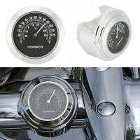 7/8-1 Motorcycle Handlebar Mount Thermometer For Kawasaki Zr1100 Zr1200 Zr7s