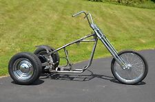 Trike Softail Chopper Frame Axle Swingarm Rolling Chassis Kit Harley Tri-Glide 1