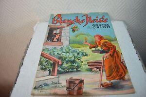 Details Sur Ancien Livre Blanche Neige Et Les 7 Nains Conte Grimm Edition Touret
