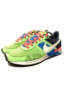 Mens-10-5-Nike-Air-Pegasus-83-30-Running-Shoes-Flash-Lime-Hero-Blue-599482-314
