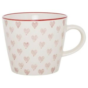Ib-Laursen-Tasse-Menthe-gobelet-cafe-cappuccino-The-rouge-blanc-C-urs-coeur
