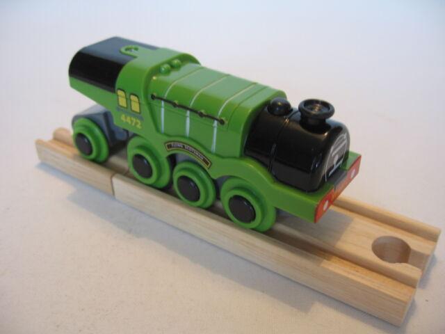 Motorised Battery FLYING SCOTSMAN Train Engine Wooden Track ( Brio Thomas ) NEW